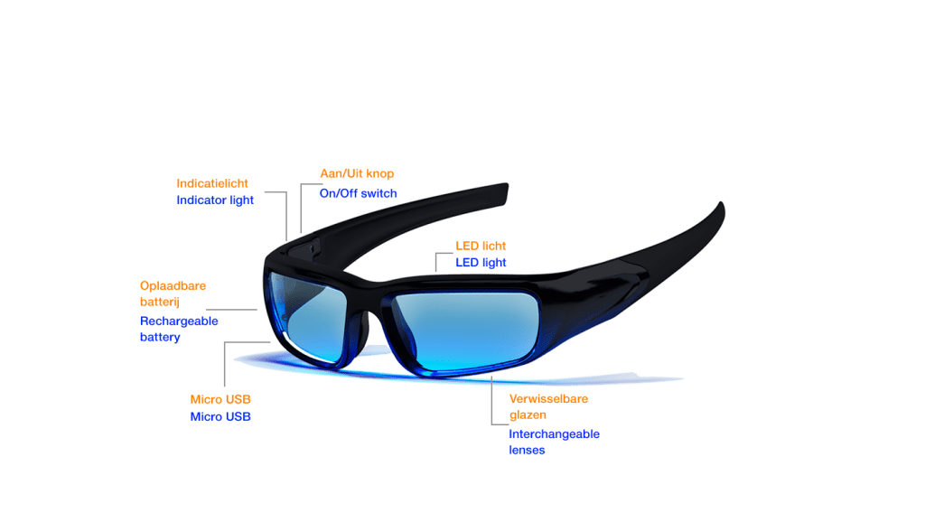 Functie Propeaq lichtbril