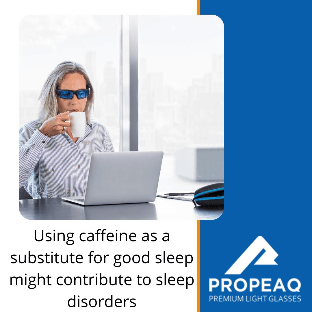 Caffeine as substitute for sleep