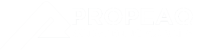 PROPEAQ Enlightening your life - rectangle white on transparant